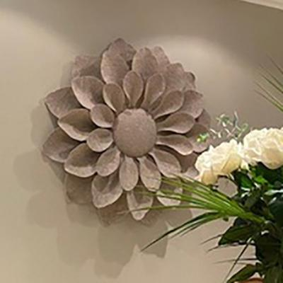 BIG FLOWERS BEIGE